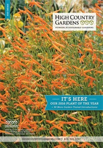 High Country Gardens Catalog Cover January 2016