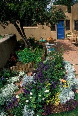 Cropped - Vegetable + Flower gardens Du Rosier