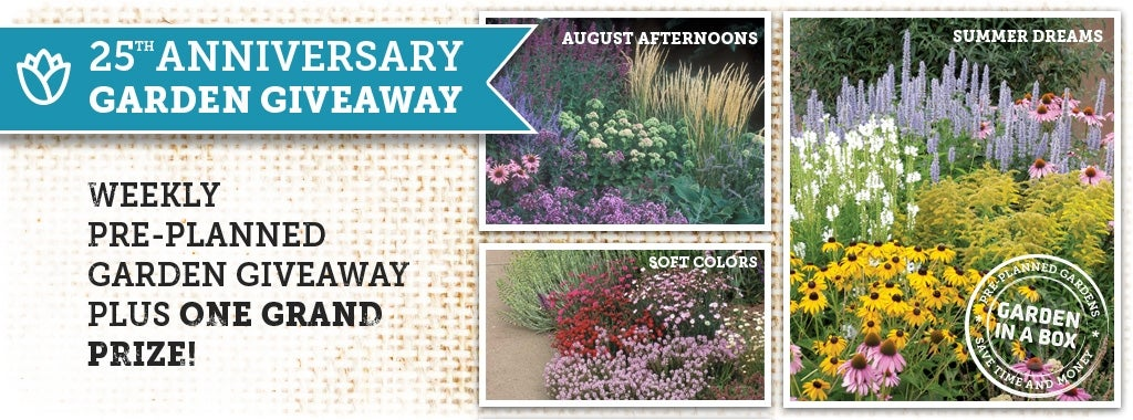 high country gardens 25th anniversary giveaway contest