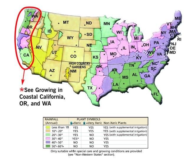 us rainfall map